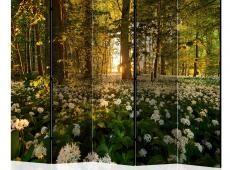 Paraván - Forest flora II [Room Dividers]